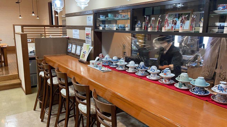伊万里鍋島焼会館喫茶コーナー時間短縮のお知らせ